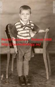 Pentti Tuononen 1948 Finland, Pori.