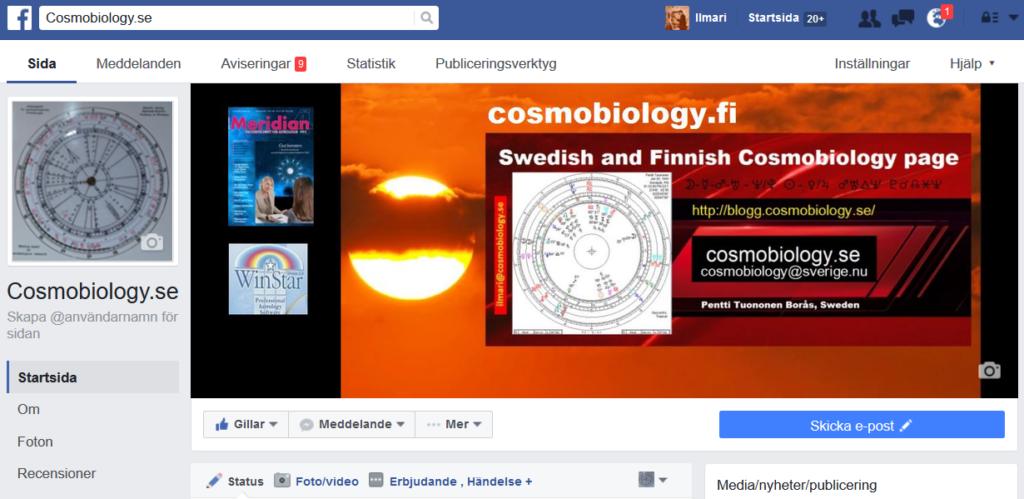 cosmobiology.se Facebook